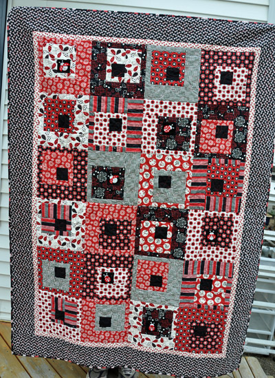 Ladybug Quilt | Life In The Dog House : ladybug quilt - Adamdwight.com